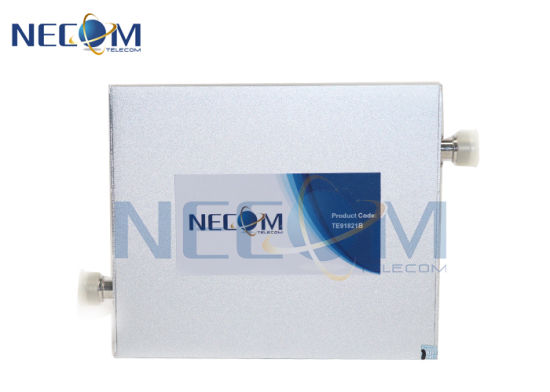 Cellular Signal Booster Coverage Range 500-1000 Square Meters 23dBm Tri-Band Frequency Booster pictures & photos