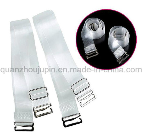 Custom TPU Fashion Invisible Adjustable Transparent Bra Shoulder Strap