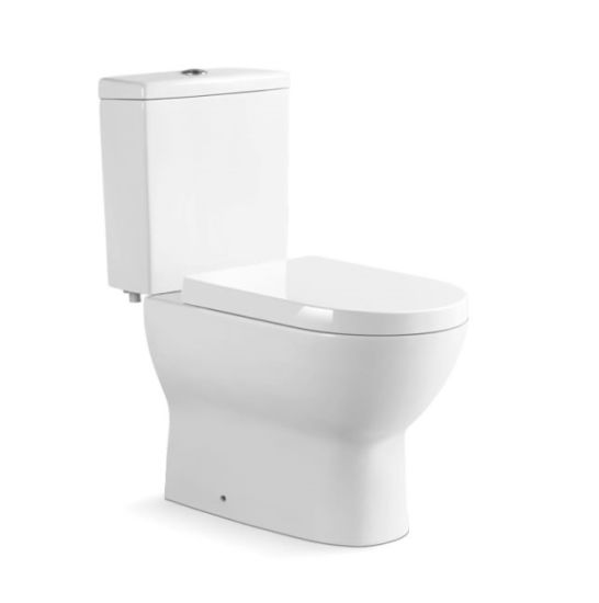 891 Malaysia Design Washdown Two Piece Toilet with S Trap 250mm