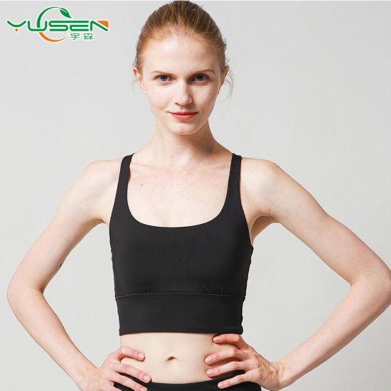 e3a128391586a China 2018 Custom Women Seamless Sport Bra Running Yoga Workout Yoga ...