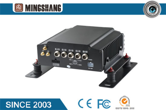1080P 4CH/8CH Mobile DVR with GPS 3G 4G WiFi G-Sensor Optional for Bus/Truck/Taxi/Vehicles pictures & photos