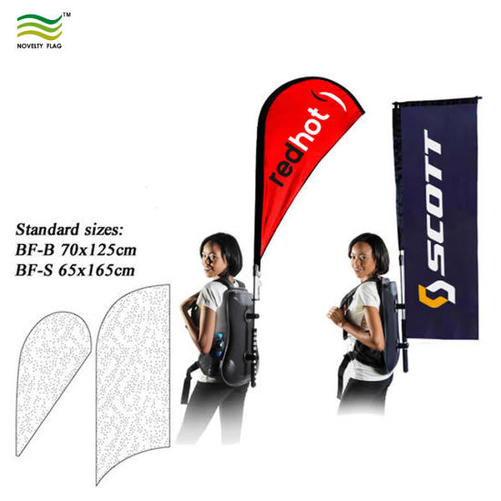Advertising Decoration Human Walking Backpack Banner pictures & photos