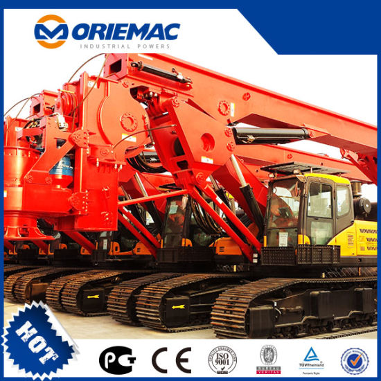 Sany Full Hydraulic Rotary Drilling Rig Sr280 Pile Machinery
