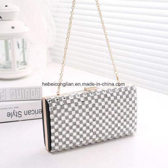 ... Alibaba China New Design Woman Handbag Crystal Clutch Evening Bag ... e0684da422