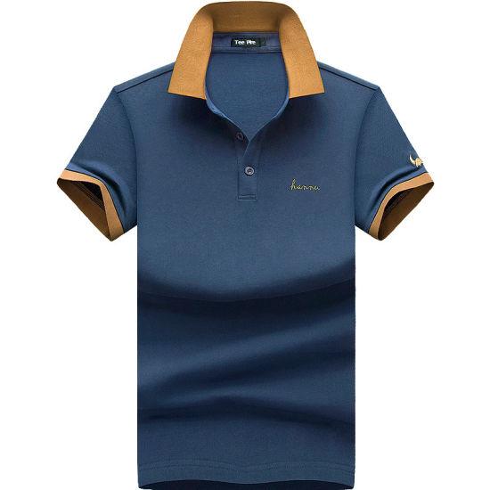 Wholesale High Quality 100% Cotton Man Polo Shirt
