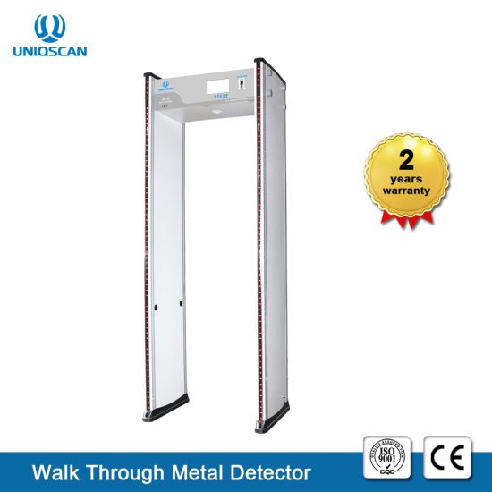 7 Inch LCD Color Screen Door Frame Metal Detector with 24 Zones High Sensitivity pictures & photos