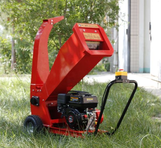 7HP Petrol Recoil Start Wood Branches Chipper