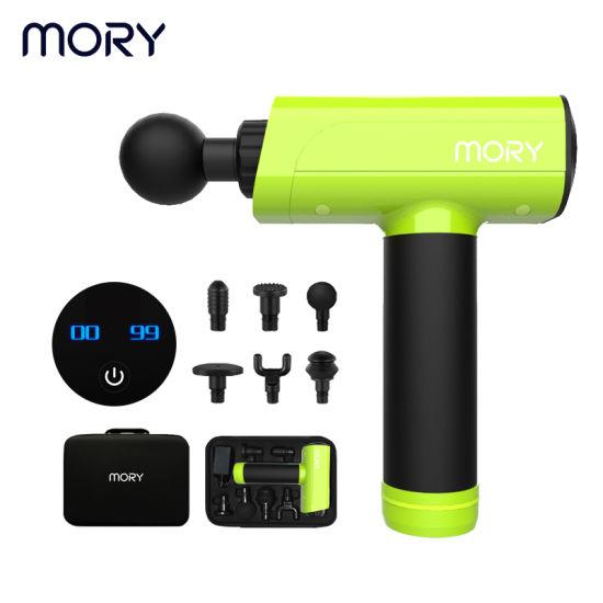 Mory Vibrating Massage Gun Cordless Massage Gun Deep Tissue Massage Gun Stereo