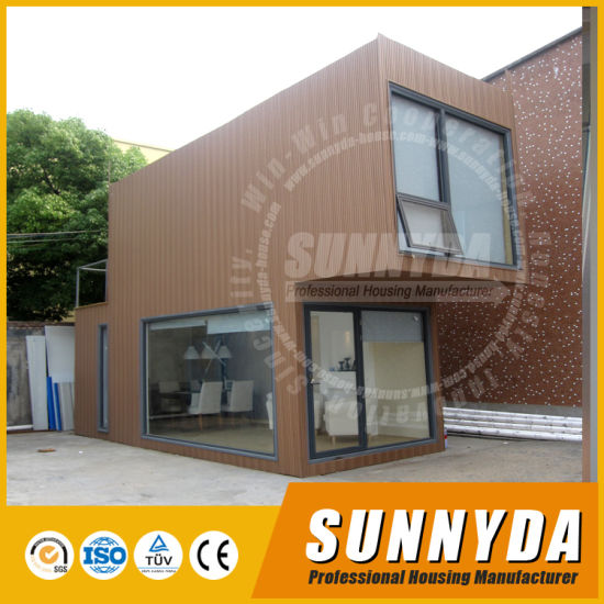 China 20FT Flat Pack Living Container House Modern Design