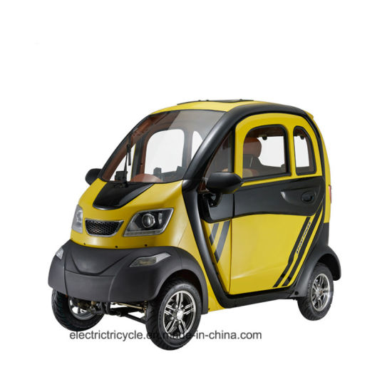 Chinese Adult 4 Wheeler Electric Mini Smart Car