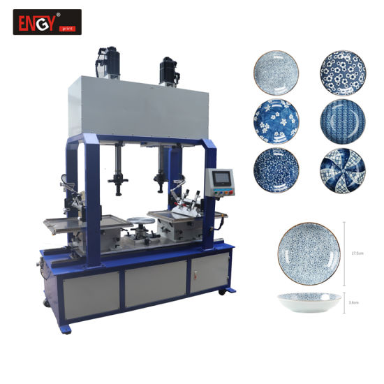 Wholesale Price Semi-Automatic Large Pad Printing Ceramic Bowl Machine