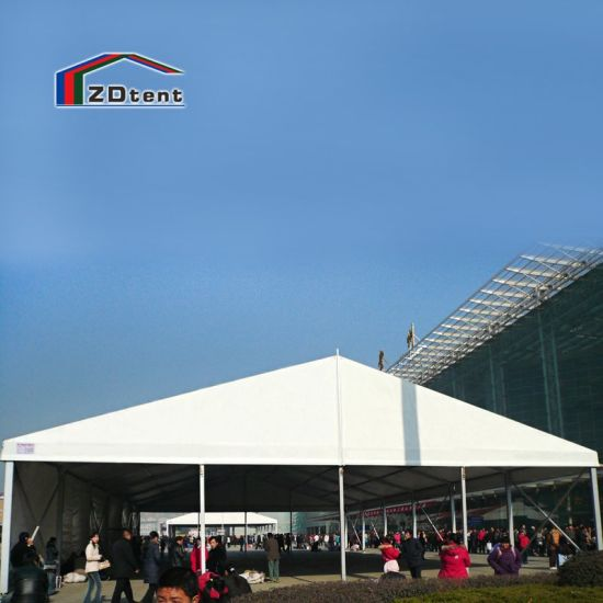 20m/30m/40m Factory Price Outdoor Large White Aluminum PVC Marquee Party Event Tent