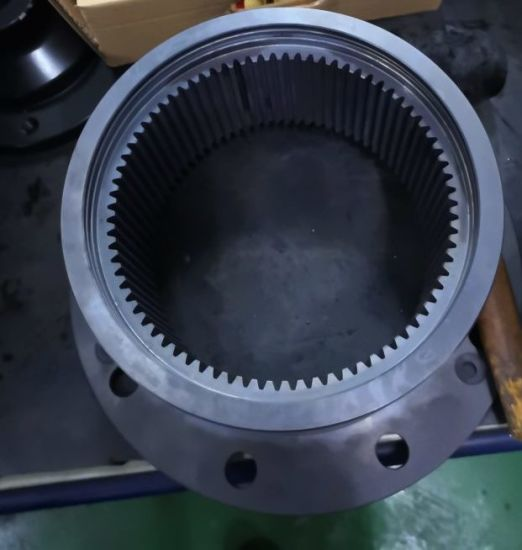 Customized Splined Drive Gear and Spur Gear