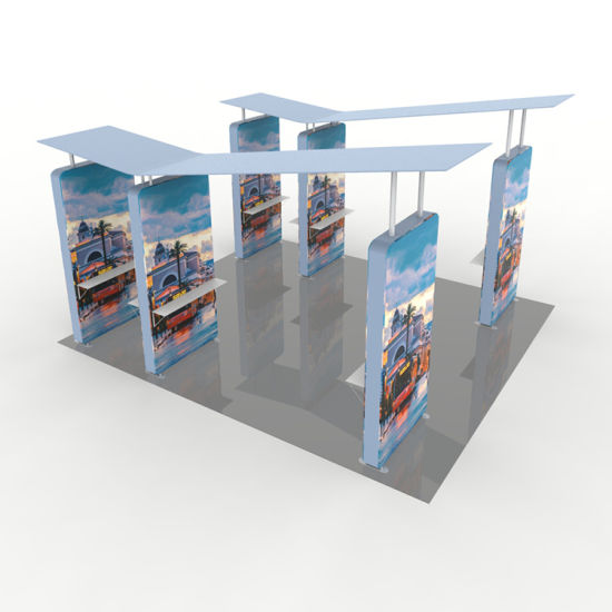 Hot Sale Advertising Aluminium Tension Fabric 20X10 Trade Show Booth