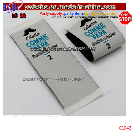Fabric Tags Labels Custom Brand Professional Woven Clothing Labels (C1043)