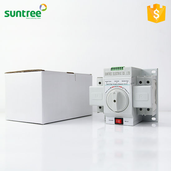 China Sq3 Generator Transfer Switch ATS Changeover Switch 6A