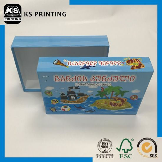 Low Price Children Educational&Intelligent Toys Packing Box pictures & photos