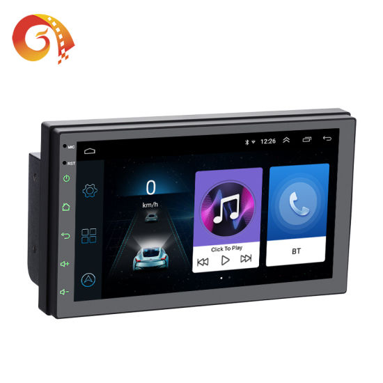 2 DIN 7 Inch 7168 Android 1024*600 HD 1080P Full Touch Screen Bluetooth Mirror Vlc Apk Stereo Car Radio System DVD Video Player