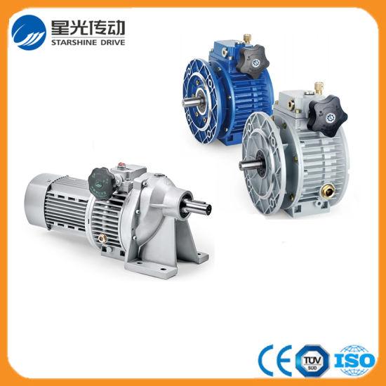 China Good Quality Aluminum Speed Variators with IEC Motor Flange
