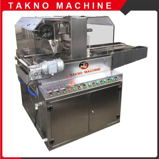 Tn400-1000 Chocolate Enrobing Machine with Cooling Tunnel pictures & photos