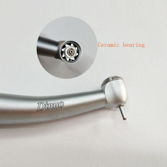 Dental Big Head Push Button Turbine Handpiece Equipment