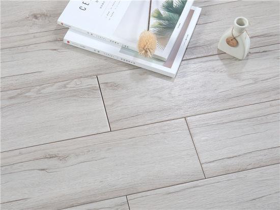 China 6x24 Inch Light Gray Texture Wood