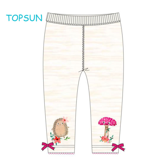 Organic Cotton Colorful Baby Clothing Baby Leggings Toddler Baby Clothes