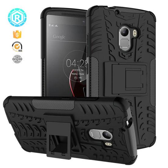 TPU PC Kickstand Mobile Phone Case for Lenovo K4 Note