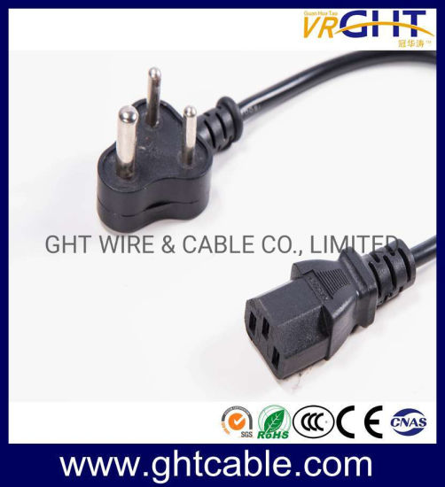 South Africa Power Cord & Power Plug for PC Using (SANS 163-1) / (IS16A3)
