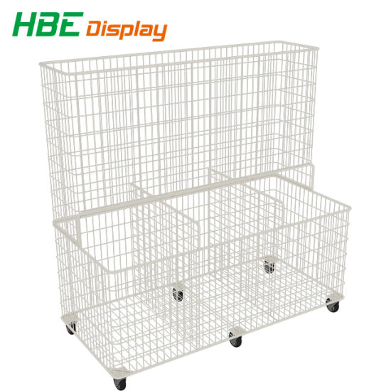 Supermarket Awesome Promotion Mesh Storage Stacking Wire Baskets pictures & photos
