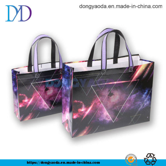 Custom Fashion OPP Lamination Non Woven Handle Bag