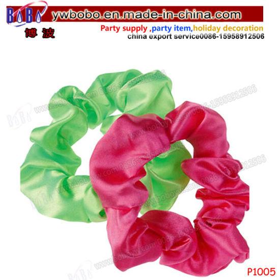 Christmas Gifts Customize Brand Logo Sports Braided Hair Band Hair Accessories Hair Scrunchy P1005