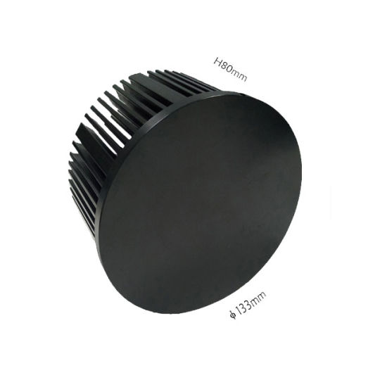 Round Aluminum LED Heat Sink Aluminum Cooler/ Radiators 50W