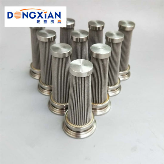 Industrial Stainless Steel Pilot Hydraulic Filter for Construction Machinery Parts