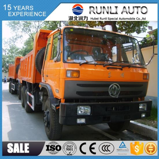 Dongfeng 6X4 10 Wheel 15 Ton Dump Truck Good Price for Sale