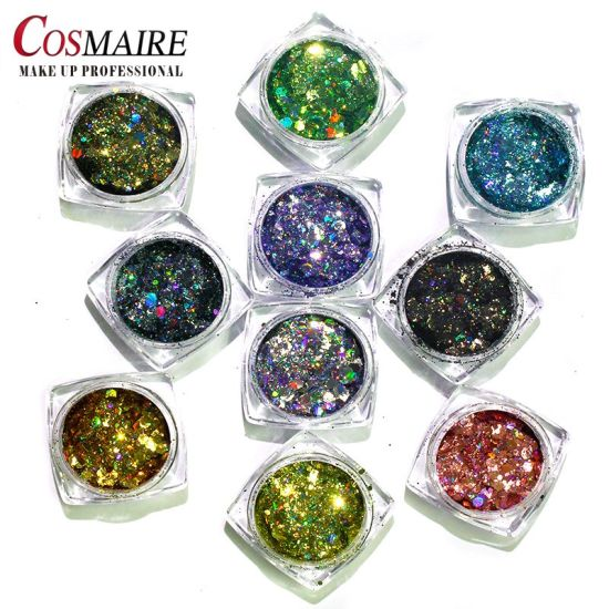 Unique Design Chunky Laser Mixed Glitter for Body Nail Face pictures & photos