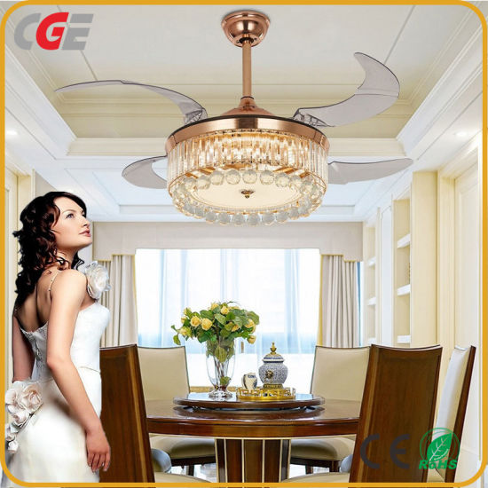 China Fan European Luxury Living Room