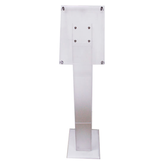 Transparent Acrylic Outdoor Floor Stand A4 Brochure Display Holder Stand
