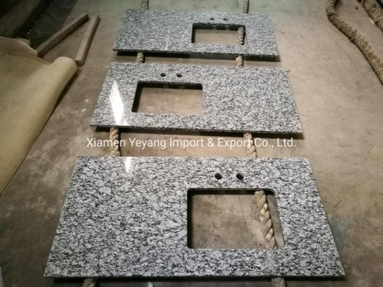 Spray White/Wave White Granite for Kitchen/Bathroom/Countertop pictures & photos