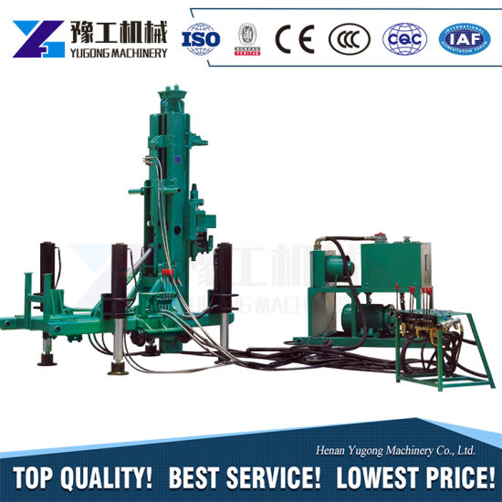 Yugong New Design Pneumatic Anchor Drilling Rig for Rock pictures & photos
