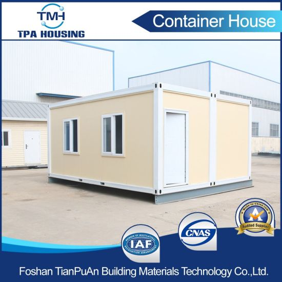 China 20ft Shipping Container House For Office In Prefabricated
