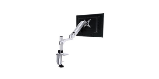 LCD Computer Display Stand with Table Top Universal Rotating Lifting Telescopic Display Bracket Arm