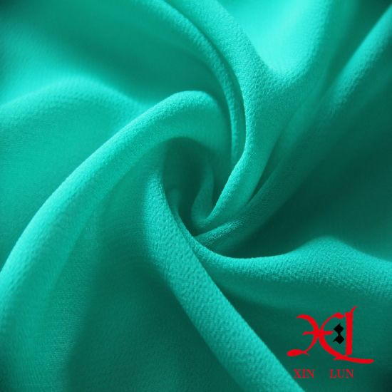 High Twist Polyester Chiffon Crepe for Ladies′ Style pictures & photos
