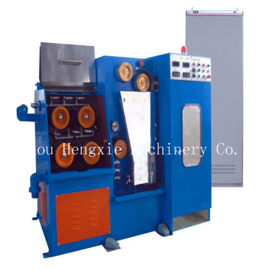 Hxe-24dt Fine Copper Wire Drawing Machine with Continuous Annealing Machine pictures & photos