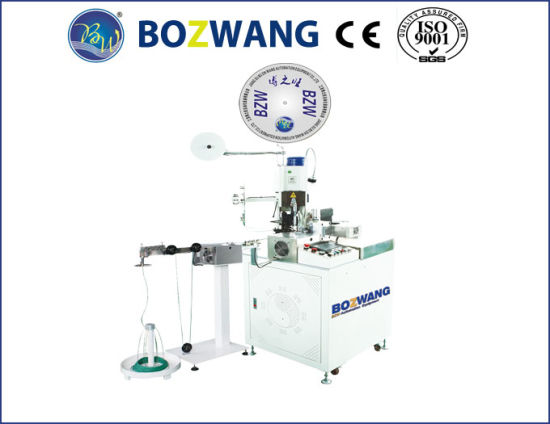 Full Automatic Single End Wire Twisting and Terminal Crimping Machine pictures & photos