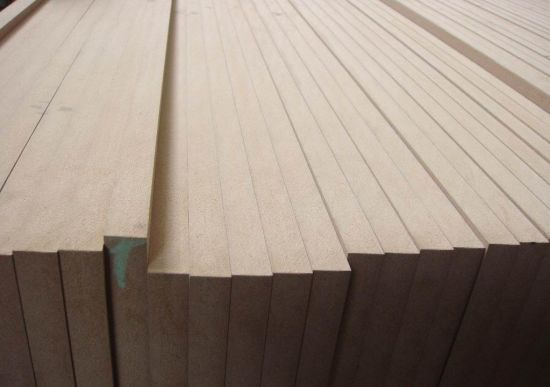 China Standard Size Plain Mdf Board 1220x2440x20mm With Grade E2 For