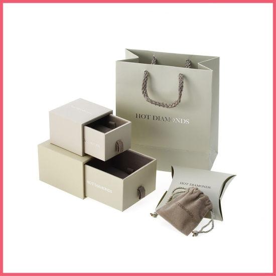Luxury Custom Logo Printed Jewelry Box Gift Box Paper Box Packaging Box