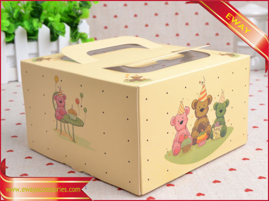 Promotion Gift Box Kraft Paper Box Packing Cake Box pictures & photos