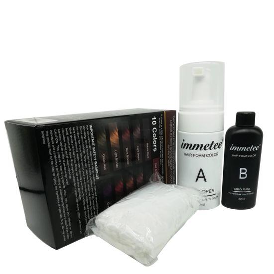Free Samples Permanent Hair Color Spray Hair Dye