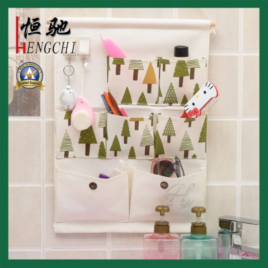 Wall Door Cloth Hanging Storage Bags Case Pocket Home Organization pictures & photos